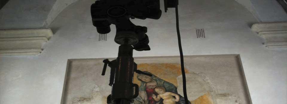 Digitalizzare affreschi